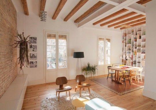 Idée déco - Un appartement ancien restylé par un architecte