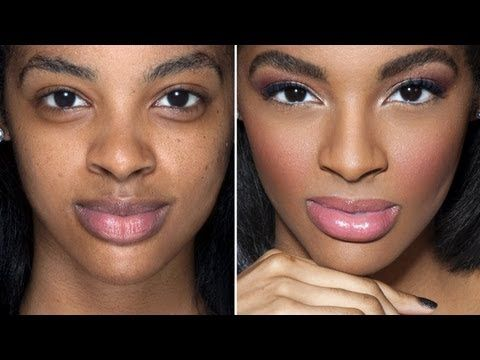 """Jordan Liberty creates an easy spring look featuring natural contouring on Ford model Ashley Brielle. Contouring CAN be soft and subtle! Here's all you need to know about """"under-the-radar"""" contouring:    1. What is contouring and highlighting? From an artist's perspective, contouring is just a form of shading, or adding DEPTH. This is why you cont..."""