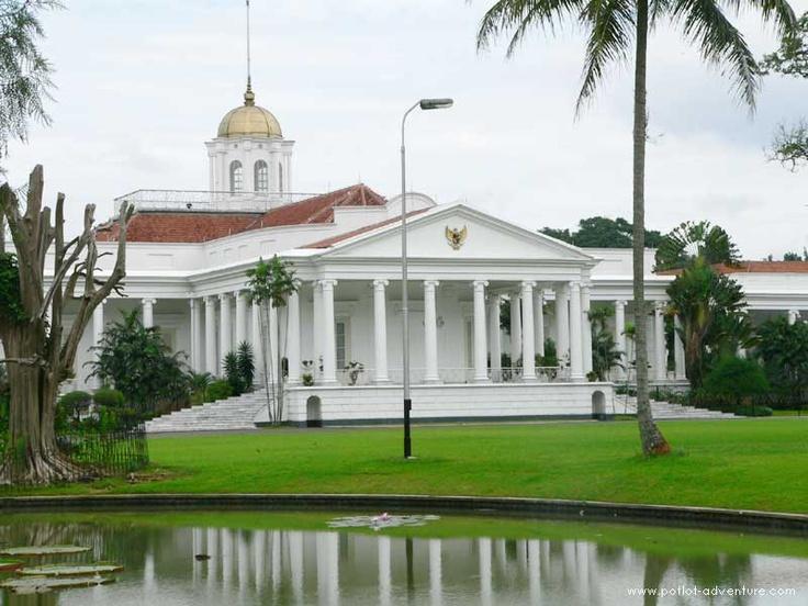 Istana Bogor in the Kebun Raya Bogor