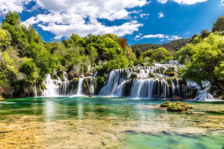 Parc de Krka, Dalmatie, Croatie.