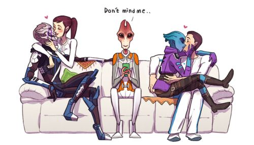 mass effect andromeda | Tumblr. only my fem Ryder would be with Kallo Jath