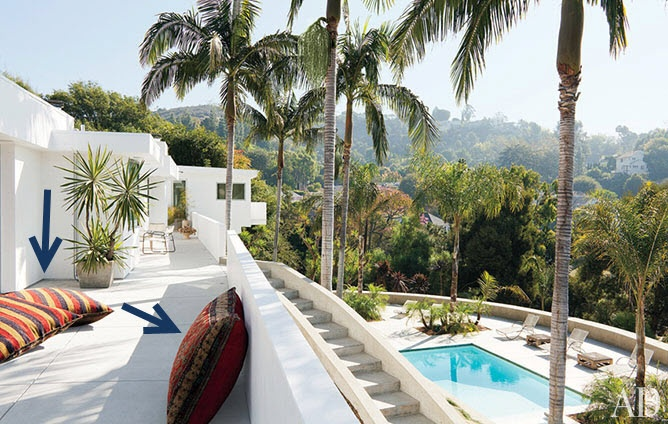 Adam Levine's Hollywood Home - but he is buying a new home now (2012)