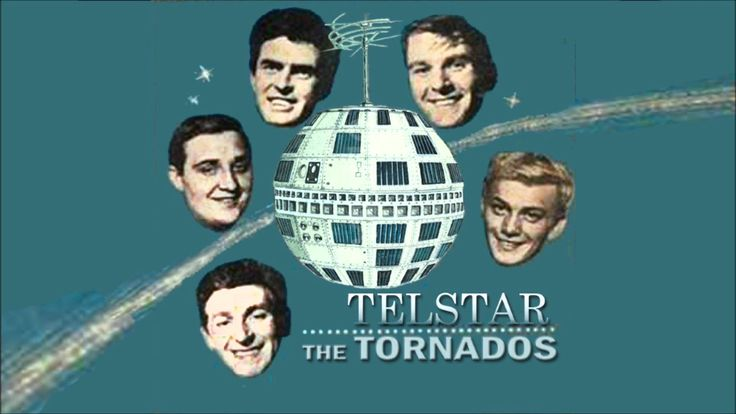 """""""Telstar"""" is a 1962 instrumental record performed by The Tornados.It was the first single by a British band to reach number one on the U.S. Billboard Hot 100..."""