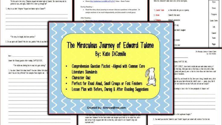 Edward tulane essay questions