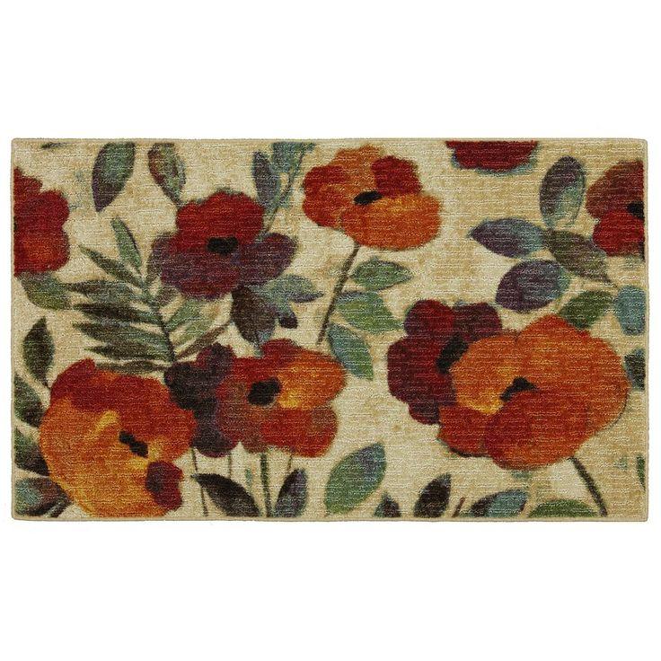 Mohawk® Home August Garden Floral Kitchen Rug | Rugs | Pinterest ...