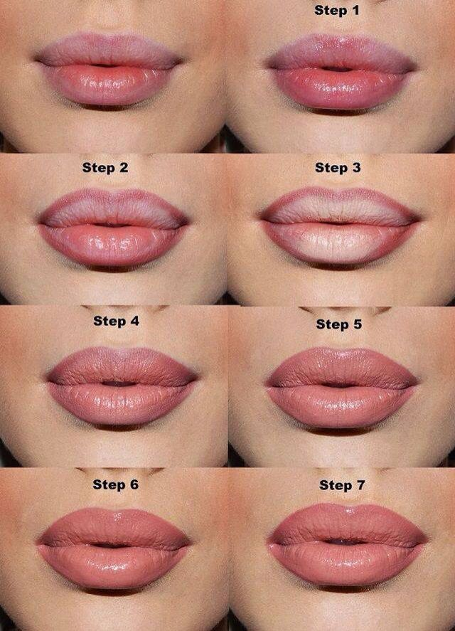This is a tip on how to make thin lips look fuller…