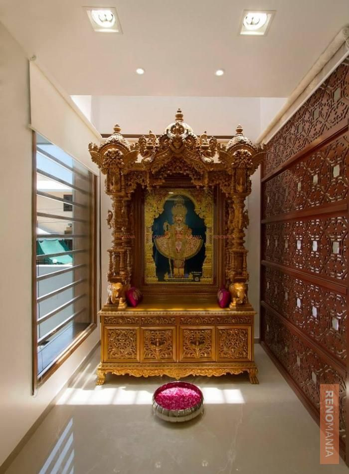17 Best Images About Pooja Room Designs On Pinterest