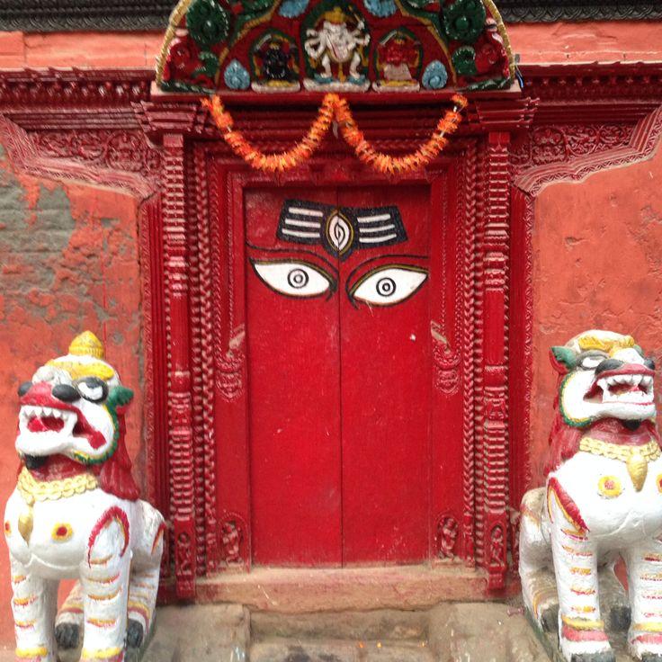 The eyes #door #eyes #nepal