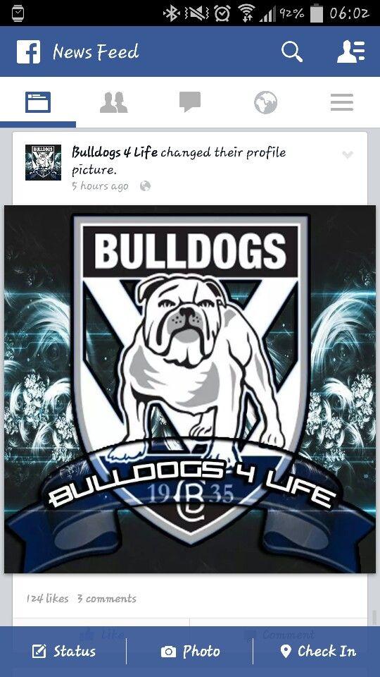 Canterbury Bankstown Bulldogs!