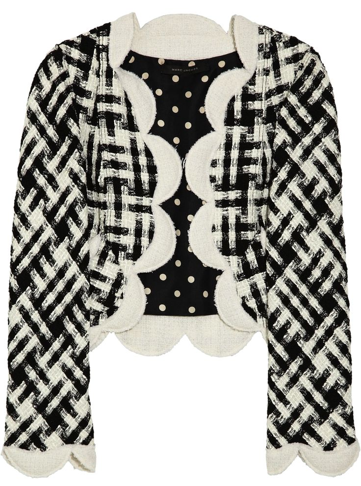 MARC JACOBS | Scalloped bouclé jacket ($1,400)