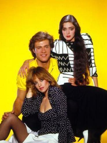 Dynasty-John James,Pamela Sue Martin and Kathleen Beller - Dynasty .
