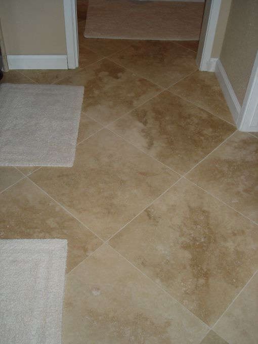 Floors Tiles And Diamond Pattern 18x18 Turkish