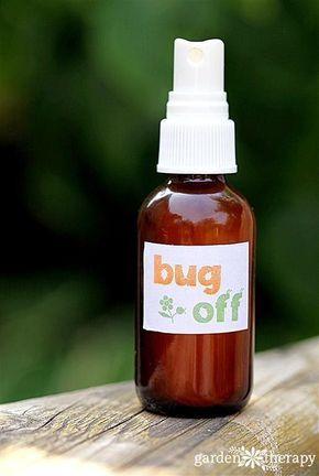 Natural Homemade Bug Spray Recipe with essential oils