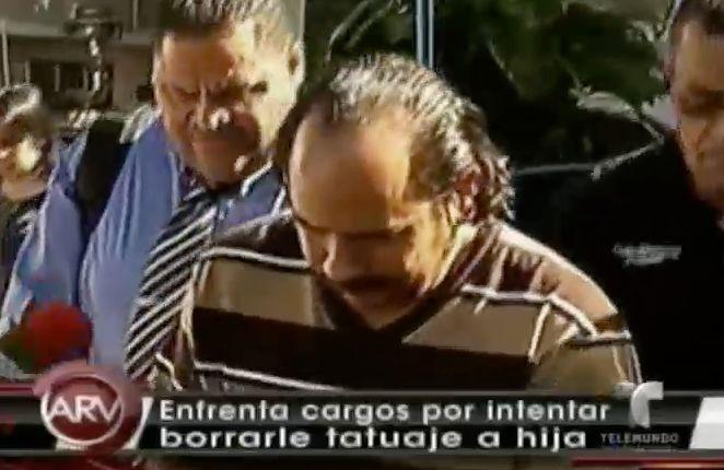 Hombre Le Intentó Borrar Tatuaje A Su Hija Con Una Máquina Pulidora #Video