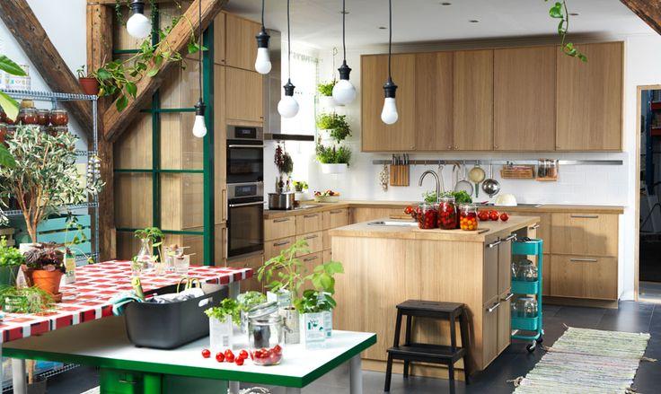 METOD/EKESTAD keuken