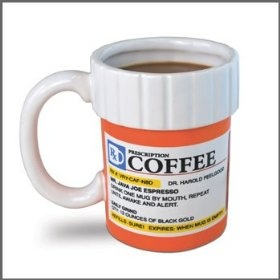 Prescription bottle mug