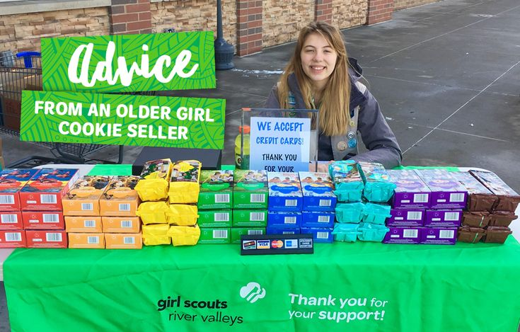 Hear from a superstar Girl Scout cookie seller with selling tips for this cookie season!