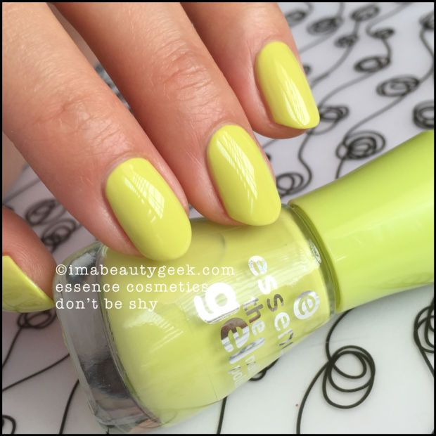 essence nail polish  essence don u0026 39 t be shy  lotsa essence swatches at imabeautygeek com