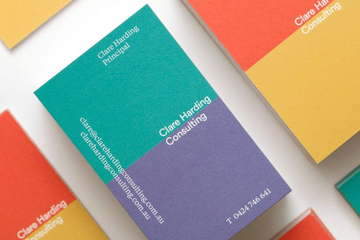 Melbourne based consulting freelancer Clare Harding commissioned Principle Design for branding, digital design and print design