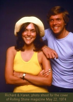 The Carpenters' sound. This brother and sister team produced a definitely unique sound with beautifully crafted, highly successful hit records. Richard & Karen Carpenter were the biggest-selling group of the 70s. The Carpenters were literally On Top of the World before and after the hit recording by the same name. They were invited by President Richard Nixon to perform at the White House, at a dinner in honor of West German Chancellor Willy Brandt.