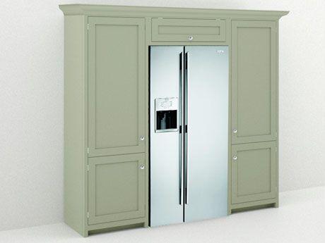Cabinets Flush Around Fridge Pantry Amp Small Appliances