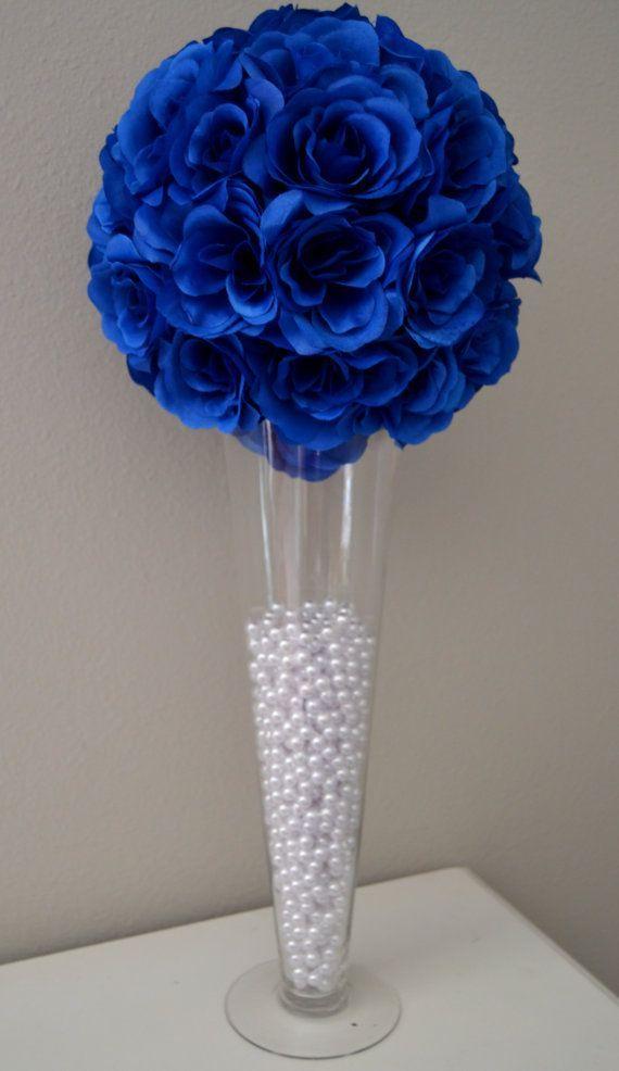 Resultado de imagen para decoracion para fiestas de 15 azul