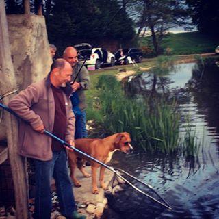 Initiation à la pêche en étang pour les enfants et adultes débutant