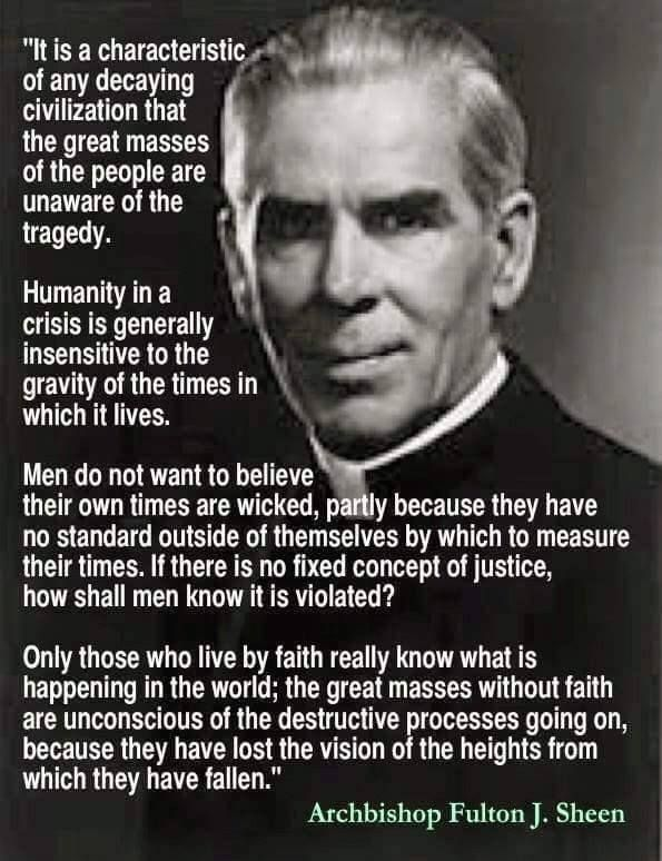 Archbishop Fulton Sheen « A Heapin' Plate of Conservative Politics & Religion