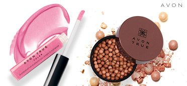 Get your summer glow on with Avon True Color Glazewear Lip Gloss + Bronzing Pearls! #AvonRep