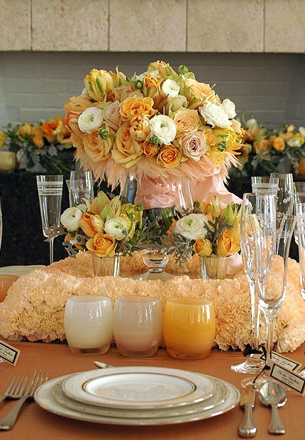 Tablescape♥  Floral Centerpiece Ideas