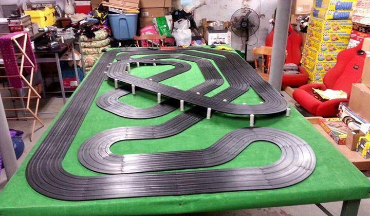 HO Slot Car Track