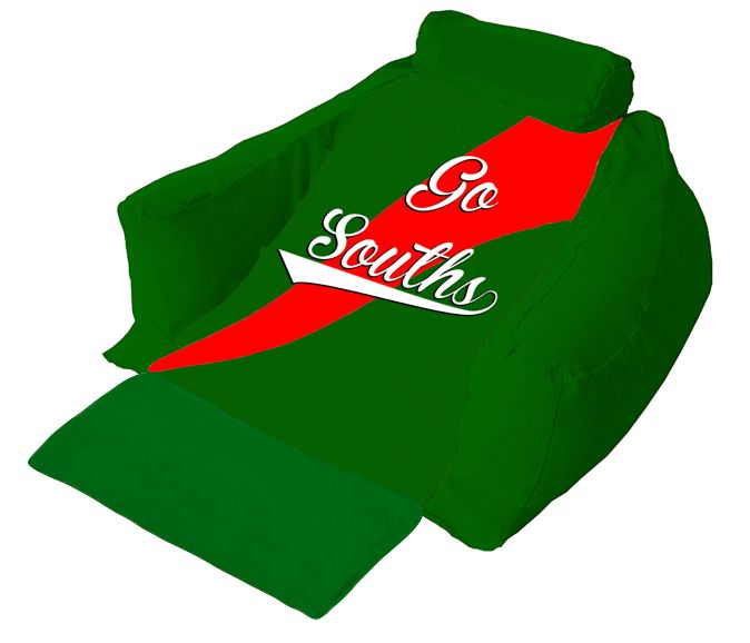 As you watch the game at home you can also support the whole team by having a wedgeze lounger of South Sydney Rabbitohs