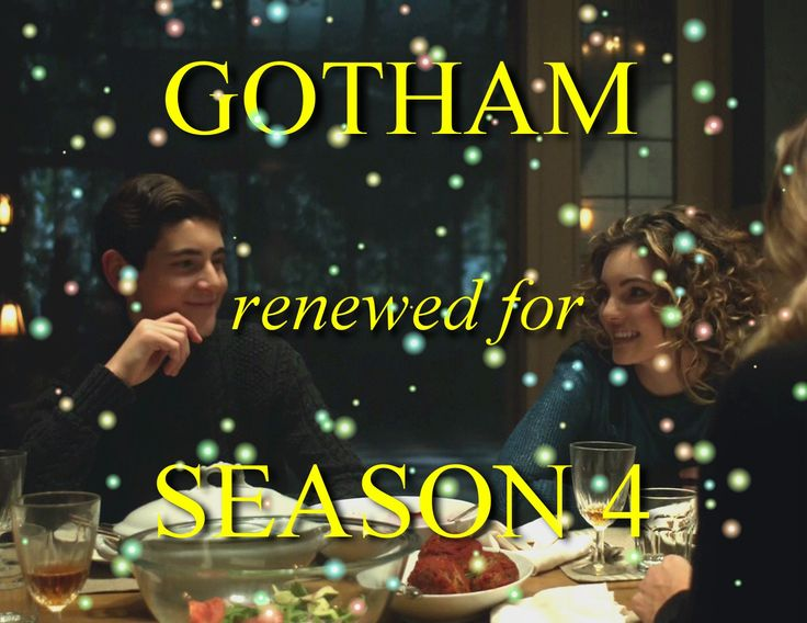 yaaasss!! The story continues, BatCat continues! The show deserves too much and the cast is so brilliant. Thanks FOX! I'm so happy! #Gotham #Season4 #BatCat #Batman #Catwoman #Bruce #Selina