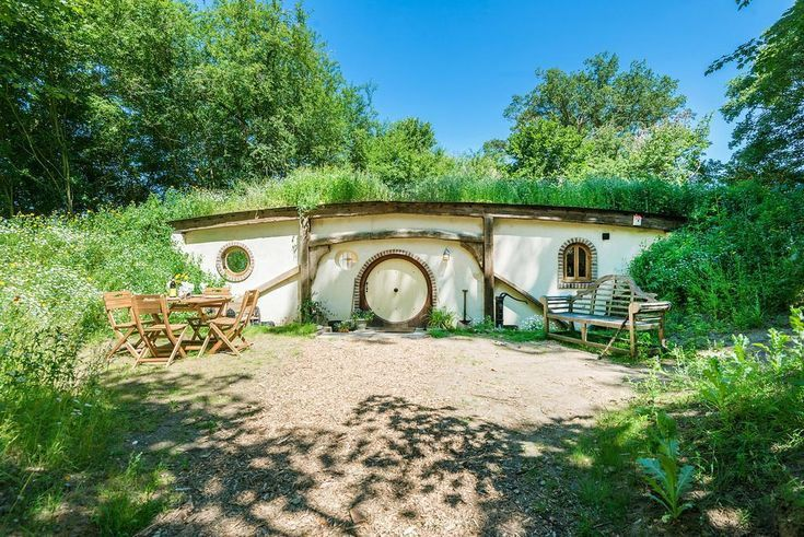Authentic Hobbit House in the Stunning Suffolk Countryside near Bury St. Edmunds, England