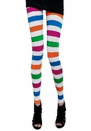 Leggings Rayas Colores  vía Tutte Matute
