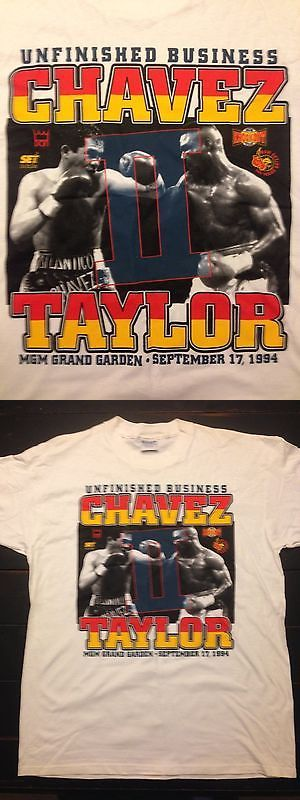 Boxing 1227: Vintage - Julio Cesar Chavez Vs Meldrick Taylor Ii 1994 Boxing T-Shirt Nwot -> BUY IT NOW ONLY: $58.95 on eBay!