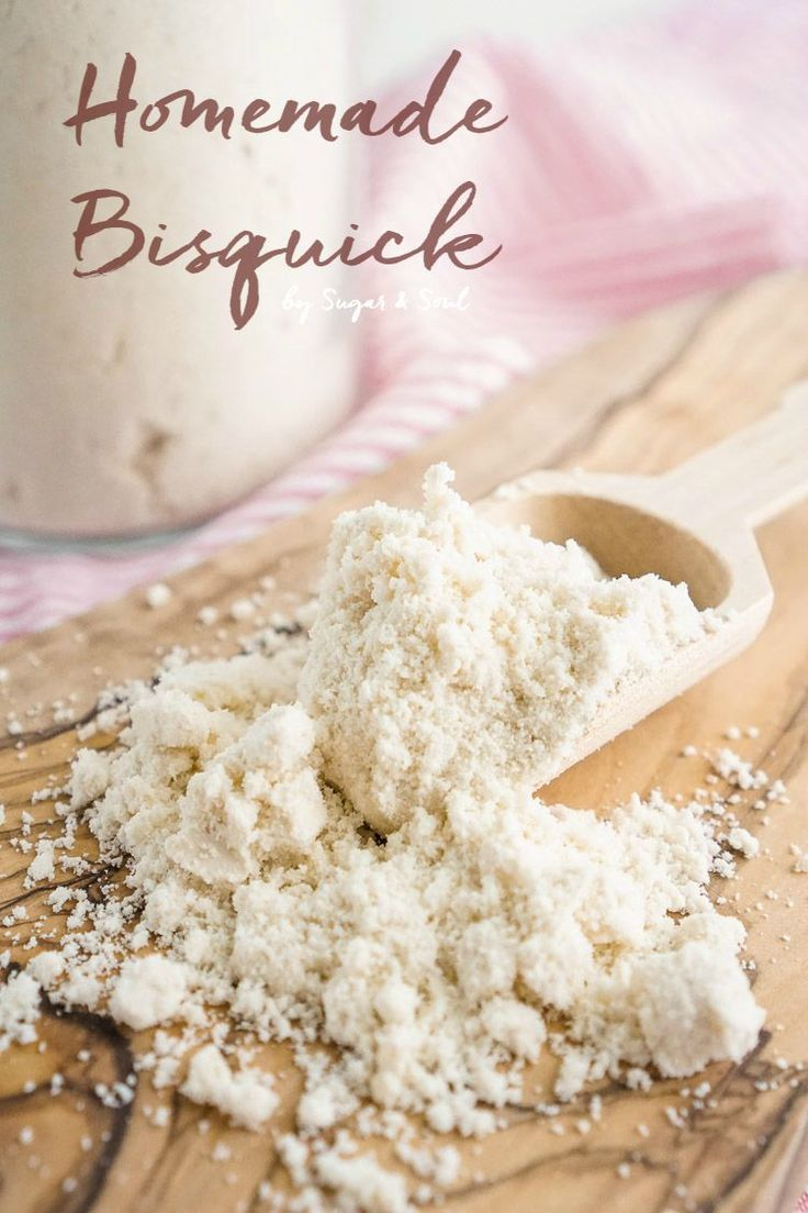 This Homemade Bisquick is the perfect substitute for the store bought stuff! It's so easy and cheap to make at home and you can use it for all your baking and cooking needs!