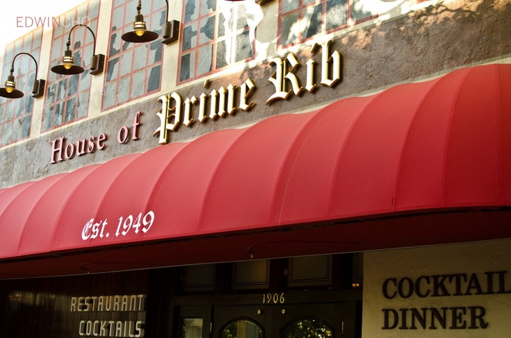 house of prime rib, san francisco. one of my favorite places on earth. going on saturday!