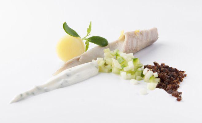 необычное блюдо из скумбрии