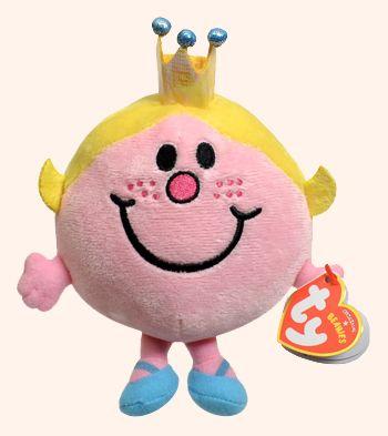 Little Miss Princess - cartoon character - Ty Beanie Babies