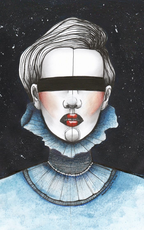 Space Princess Art Print by Agata Wereszczyńska | Society6