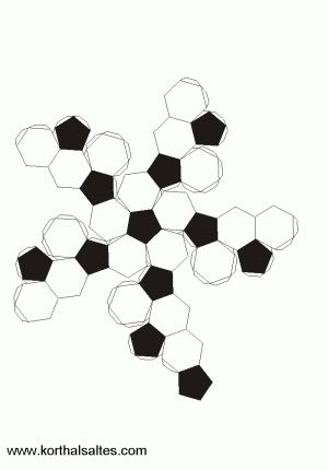 afgeknotte icosaëder