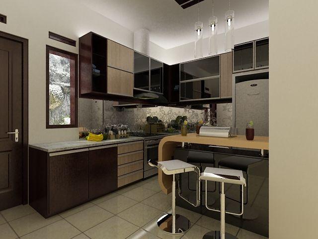 Dapatkan desain interior rumah mungil jasa interior for Kitchen set mungil
