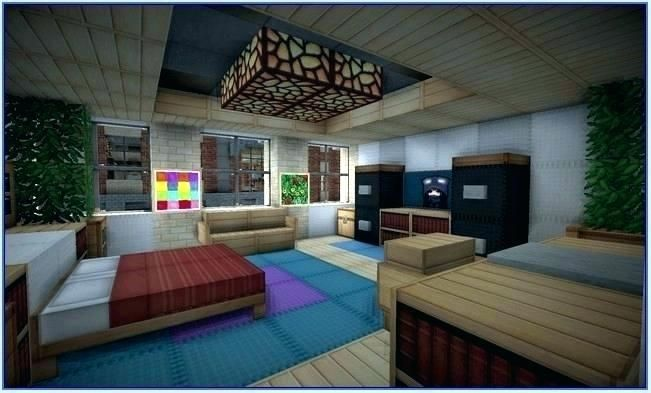 Fancy Minecraft Bedroom 83 With Additional Interior Designing Home