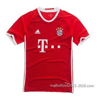 Acheter maillot de foot pas cher chine 2016: Acheter nouveau Domicile maillot thaïlande Bayern ...