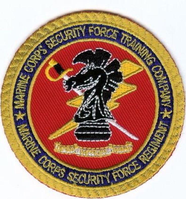 USMC Marine Corps Security Force Training Company PATCH Marines SF Regt Norfolk