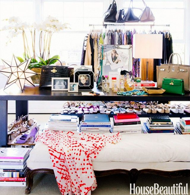 Stumped on How to Decorate? Let Your Closet Be Your Guide via @mydomaine