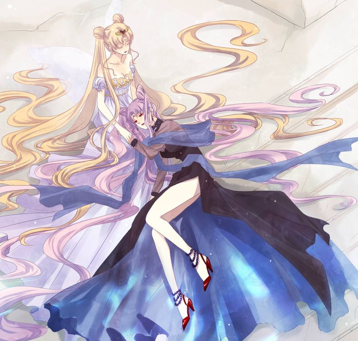 Sailor Moon Princess Serenity Wallpaper | Princess Serenity and Black Lady - Bakugan and Sailor Moon! Fan Art ...