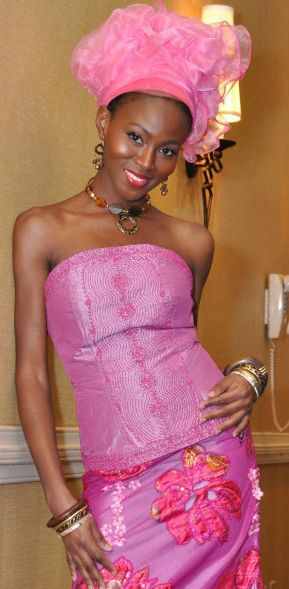 Mariatu Cole is one model, women look up to for fashion and style. She is a media influence in most of Africa.