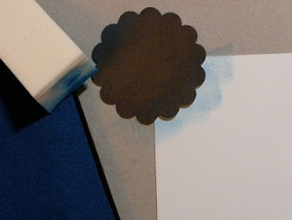 how to make clouds and waves on paper.: Sponge Cloud